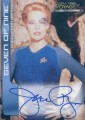 Star Trek Voyager Closer to Home Trading Card Autograph Jeri Ryan