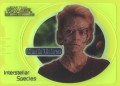 Star Trek Voyager Closer to Home Trading Card Green IS5