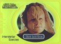 Star Trek Voyager Closer to Home Trading Card Green IS7