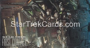 Star Trek First Contact Trading Card 19