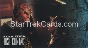 Star Trek First Contact Trading Card 36
