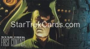 Star Trek First Contact Trading Card 48
