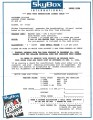 Star Trek Generations Trading Card Case Order Form