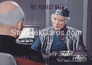 Star Trek The Next Generation Season Five Trading Card 490