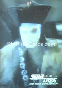 Star Trek The Next Generation Season Six H12 Q Hologram Card