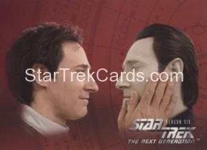 Star Trek The Next Generation Season Six Trading Card 534