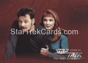 Star Trek The Next Generation Season Six Trading Card 536