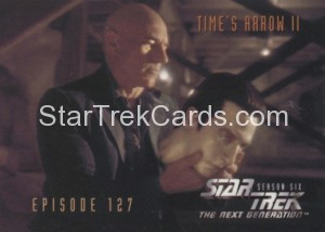 Star Trek The Next Generation Season Six Trading Card 539