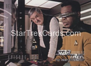 Star Trek The Next Generation Season Six Trading Card 548