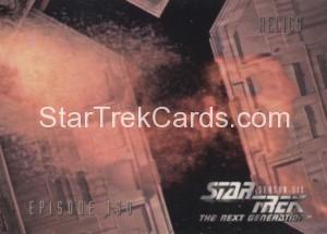 Star Trek The Next Generation Season Six Trading Card 549