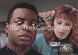 Star Trek The Next Generation Season Six Trading Card 551
