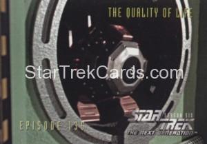 Star Trek The Next Generation Season Six Trading Card 562