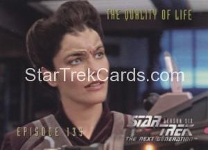 Star Trek The Next Generation Season Six Trading Card 563