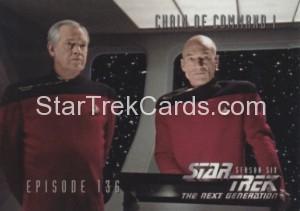 Star Trek The Next Generation Season Six Trading Card 565