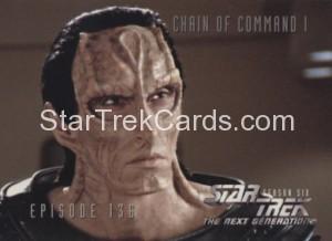 Star Trek The Next Generation Season Six Trading Card 567