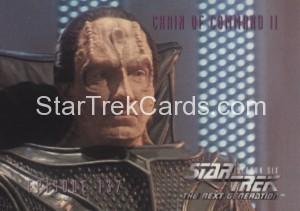 Star Trek The Next Generation Season Six Trading Card 568