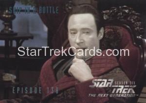 Star Trek The Next Generation Season Six Trading Card 571