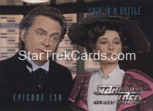 Star Trek The Next Generation Season Six Trading Card 573