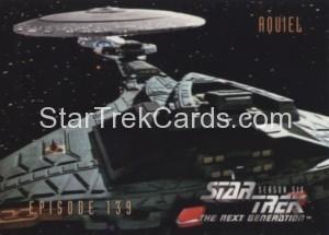 Star Trek The Next Generation Season Six Trading Card 575