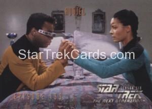 Star Trek The Next Generation Season Six Trading Card 576