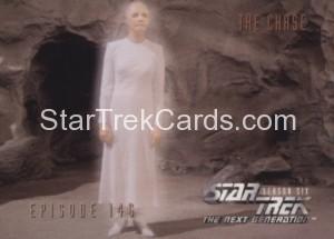 Star Trek The Next Generation Season Six Trading Card 597