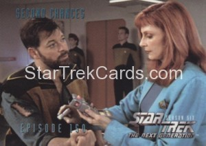 Star Trek The Next Generation Season Six Trading Card 607