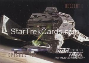 Star Trek The Next Generation Season Six Trading Card 613