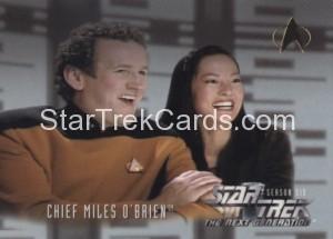 Star Trek The Next Generation Season Six Trading Card 621
