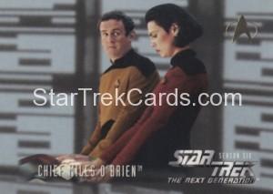 Star Trek The Next Generation Season Six Trading Card 622