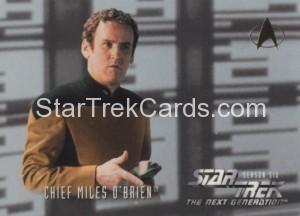 Star Trek The Next Generation Season Six Trading Card 624