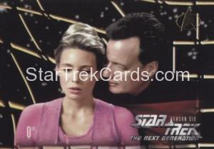 Star Trek The Next Generation Season Six Trading Card 634