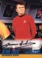 Star Trek The Original Series Season Two Autograph A32 Black Ink James Doohan Front