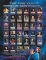 Star Trek The Original Series Season Two Trading Card Checklist Sheet Front