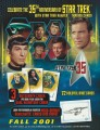 Star Trek The Original Series 35th Anniversary HoloFEX Sell Sheet Front