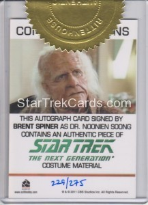 Star Trek The Next Generation Heroes Villains 6 Case Incentive Solid Brown Back