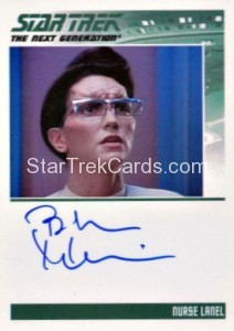 Star Trek The Next Generation Heroes Villains Autograph Bebe Neuwirth