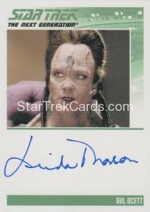Star Trek The Next Generation Heroes Villains Autograph Linda Thorson