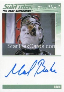 Star Trek The Next Generation Heroes Villains Autograph Michael Reilly Burke