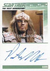 Star Trek The Next Generation Heroes Villains Autograph Patrick Massett