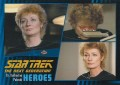 Star Trek The Next Generation Heroes Villains Trading Card 10