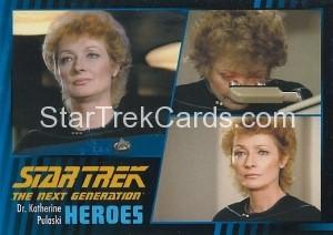 Star Trek The Next Generation Heroes Villains Trading Card 101