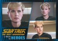 Star Trek The Next Generation Heroes Villains Trading Card 11
