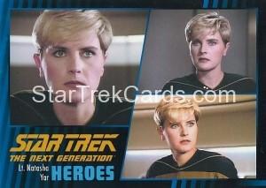Star Trek The Next Generation Heroes Villains Trading Card 11
