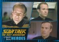 Star Trek The Next Generation Heroes Villains Trading Card 131