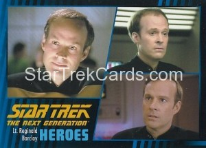 Star Trek The Next Generation Heroes Villains Trading Card 131
