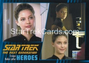Star Trek The Next Generation Heroes Villains Trading Card 14