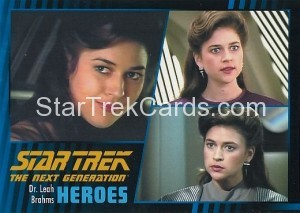 Star Trek The Next Generation Heroes Villains Trading Card 15