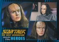 Star Trek The Next Generation Heroes Villains Trading Card 16