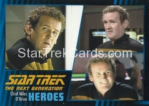 Star Trek The Next Generation Heroes Villains Trading Card 17