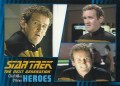 Star Trek The Next Generation Heroes Villains Trading Card 171